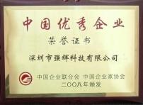 中国优秀企业-强辉科技拉伸膜